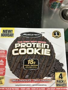MuscleTech Protein Cookie Triple Chocolate box