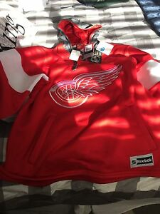 Detroit Red Wings Jersey Hoodie
