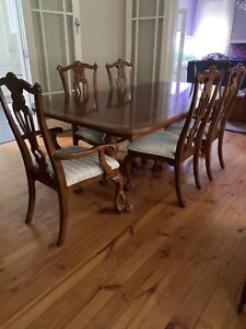 Reproduction Chippendale Dining Suite