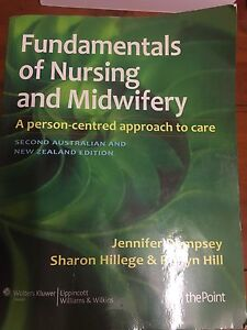 Fundamentals of Nursing and Midwifery second edition Camp Hill Brisbane South East Preview