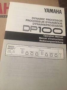 Yamaha DP100 dynamic processor Miami Gold Coast South Preview
