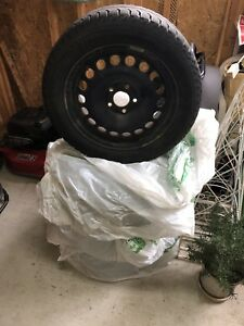 4 Michelin X- Ice Winter Tires (Snow Tires) and  Rims for SALE!