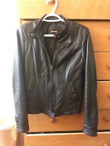 Authentic Danier leather jacket xxs
