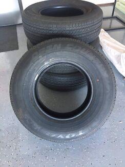 4 tyres off Nissan navara 2017