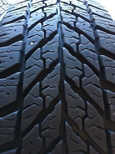 4 x 215/60R16 Goodyear Ultragrip Winter Tires