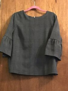 Womens Bell Sleeve Blouse Size 14