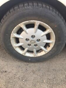 16 Nissan ice and snow tires