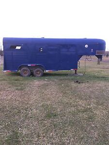 ** PRICE REDUCED** 2-4 horse trailer gooseneck