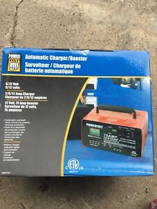 Power fist automatic charger/booster