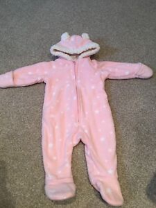 Sherpa / fleece lined bunting / onesie snowsuits