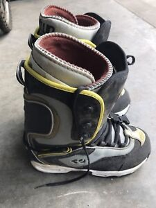 Thirty-Two brand snowboard boots