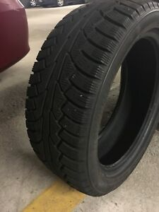*SOLD PPU* Set of 4 winter tires  205/50R17 - one year of use!