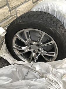 265/50/20 winter tires with rims