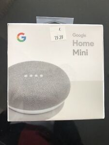 Google home mini speaker with google assistant brand new