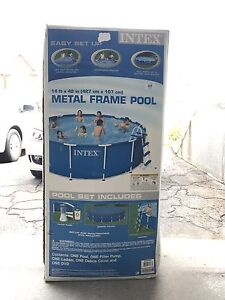Above Ground Pool **used for one year**