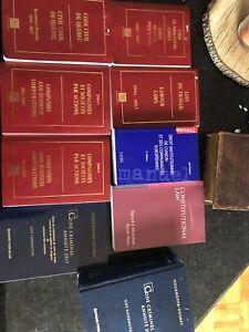 Code civil law Québec criminal constitutional