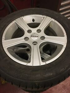 Winter mags and tires for sale
