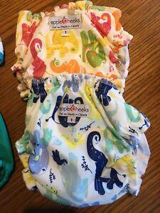 Applecheeks Size 1 Cloth Diaper Covers