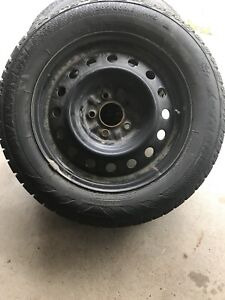 Avalanche X-treme Winter Tires Studded on Rims