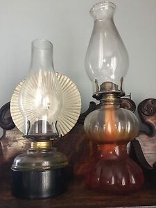 Antique Oil Lanterns