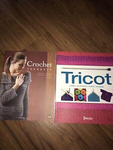Livre de tricot et de crochet