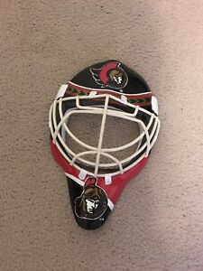 Ottawa Senators Goalie Mask Wall Plaque