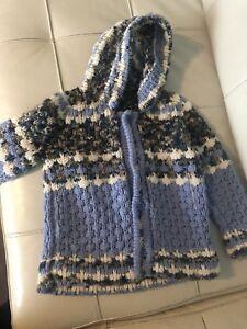 Hand woven jacket