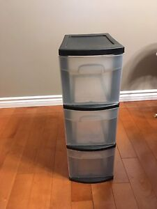 3 drawer storage container