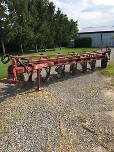 Triple K 6 furrow plow