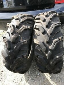 27x9x14 Mud lite atv tires