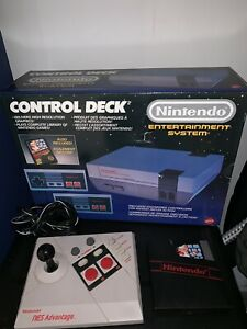 NES system complete in box with mario bros Nintendo