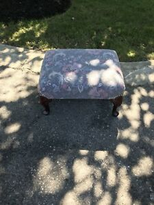Antique Refinished Ottoman