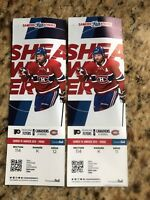 Canadiens VS Flyers Tonight's game Amazing seats 2 Pairs