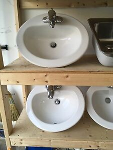 Bath and kitchen sinks  - make offer, need gone!