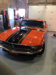 1970 302 Ford Mustang Boss
