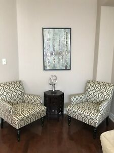 Pier 1 Accent Chairs Off White.Pier 1 Import Chairs Buy And Sell Furniture In Ontario Kijiji