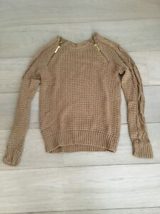 Michael Kors brown sweater - size S