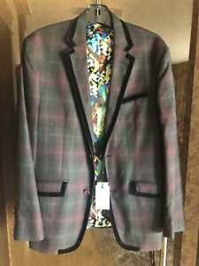 Robert Graham men's new jacket blazer