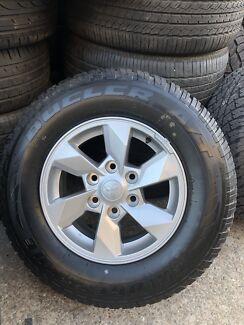 "4X Mitsubishi triton 2017 genuine 16"" brand new wheels & tyres"