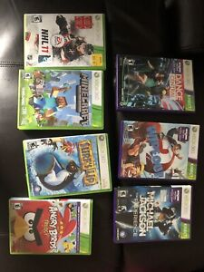 Xbox 360 and kinect games