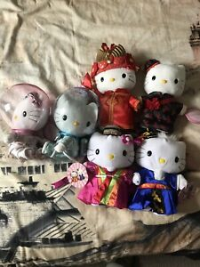 Hello Kitty wedding plush sets