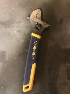 "12"" Vise Grip Adjustable Wrench"