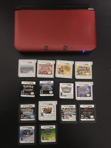 Mint Nintendo 3D XL with Games