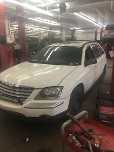 2005 Chrysler Pacifica Police Pack