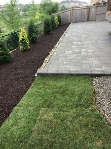 A Couple Landscapers: Interlock, patio walkways, mulch and more!