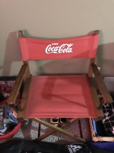 Coca Cola director chair
