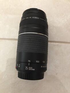 Cannon 75-300mm lens