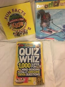 Ripleys and a National Geographic books