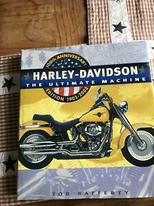 Harley 100th anniversary book