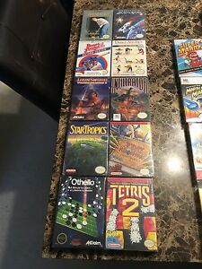 Factory sealed NES games